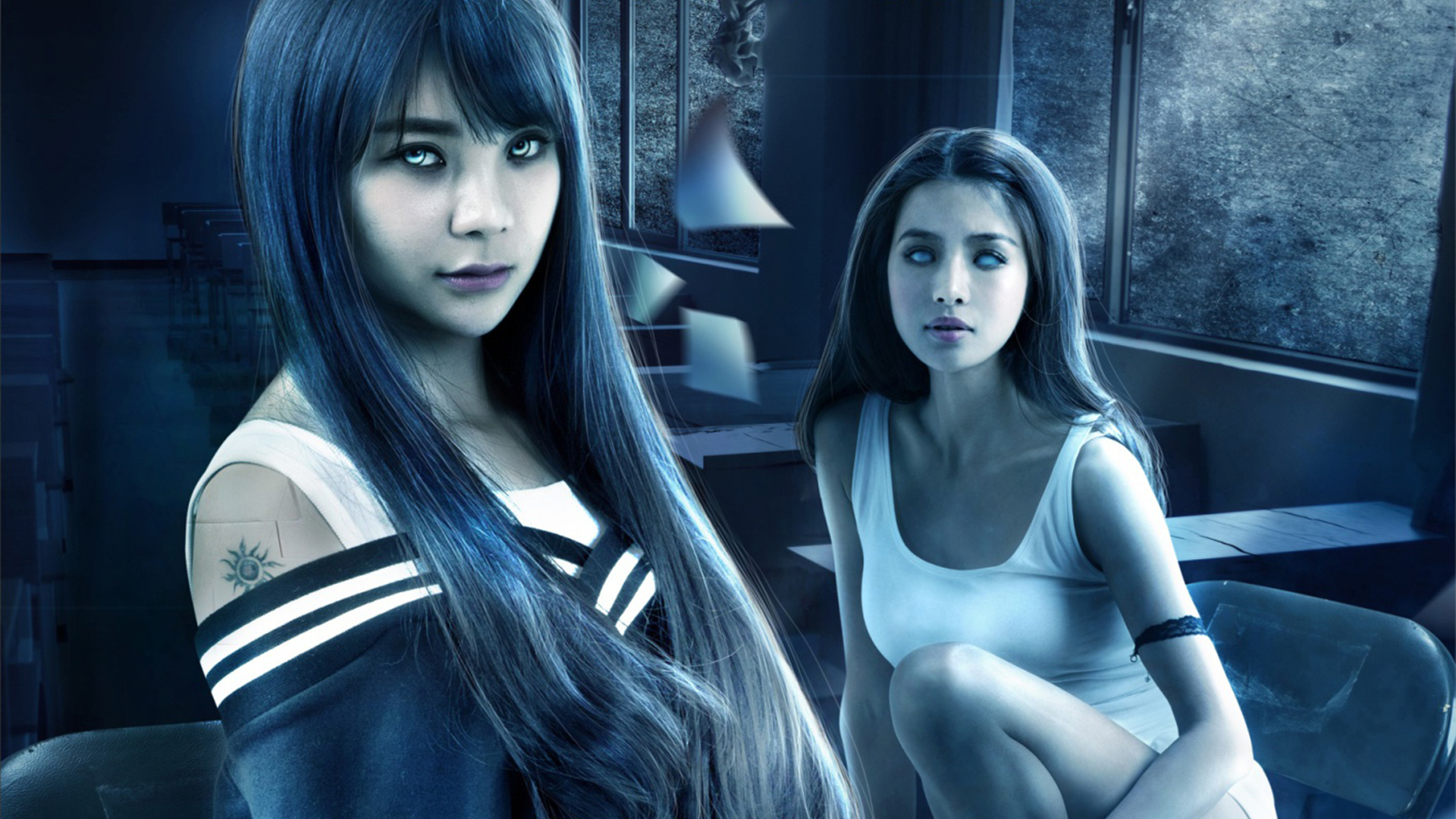 Haunted Dormitory White Paper Girl on Amazon Prime Video UK