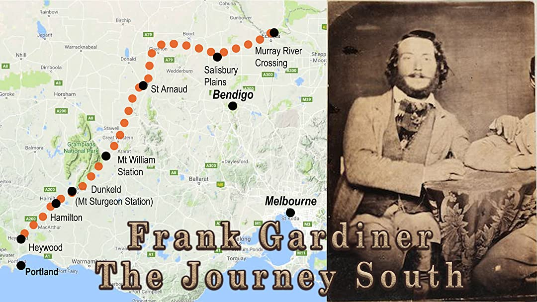 Frank Gardiner - The Journey South