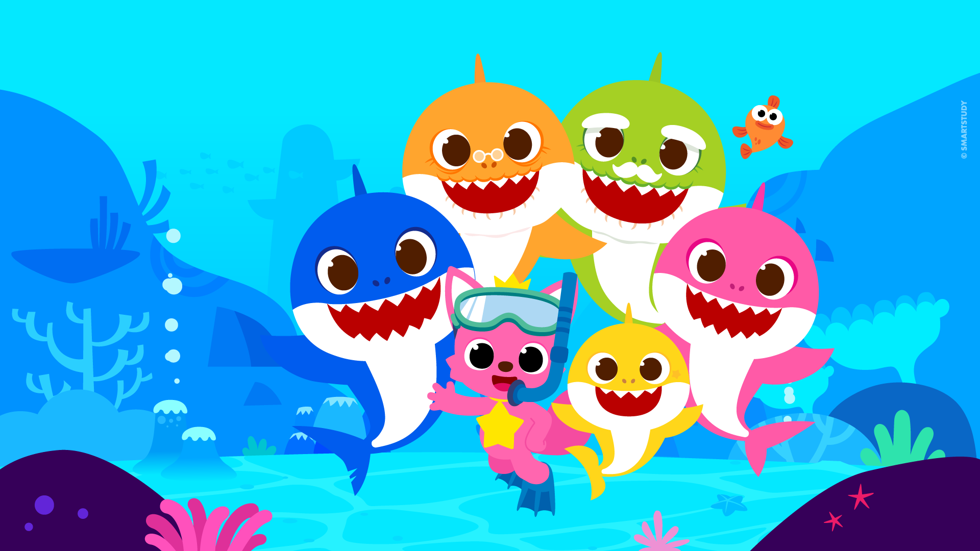 Pinkfong! Around the World with Baby Shark