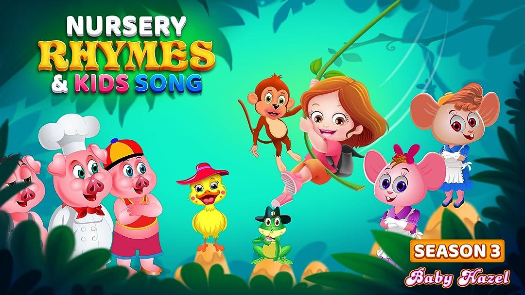 Baby Hazel Nursery Rhymes and Kids Songs - Season 3