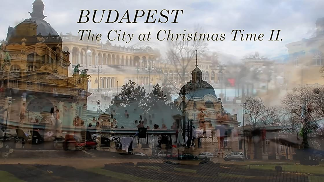 Budapest. The City at Christmas Time II.