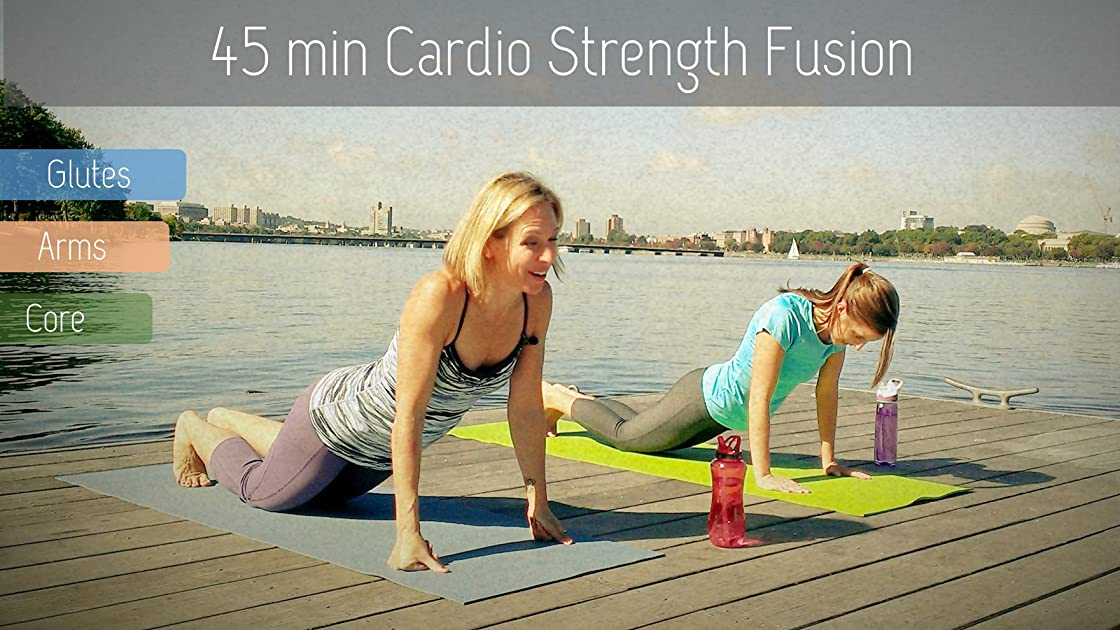 Cardio-Strength Fusion Workout with Yoga & Pilates Elements - Fitness that will Tone your Arms, Glutes, and Core