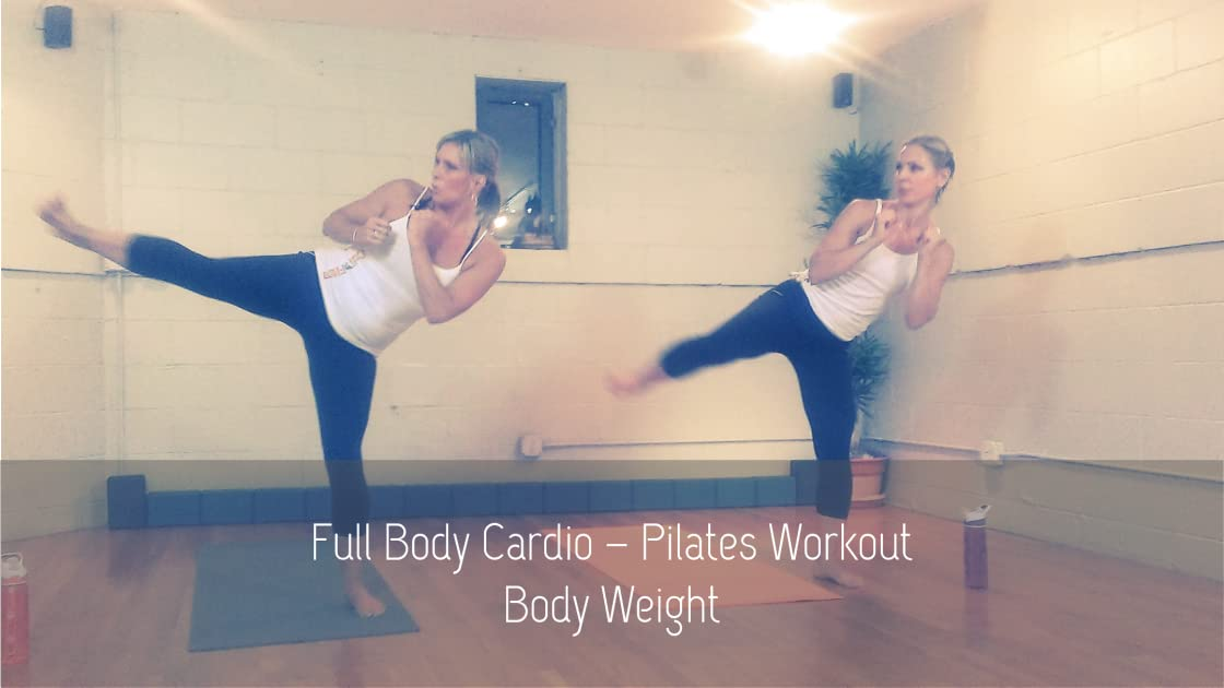 High Energy Full-Body Cardio Pilates Fitness Fusion Workout - Lose Weight and Get in Shape