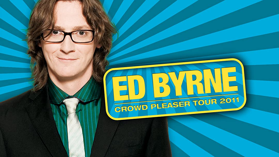 Ed Byrne Crowd Pleaser on Amazon Prime Video UK