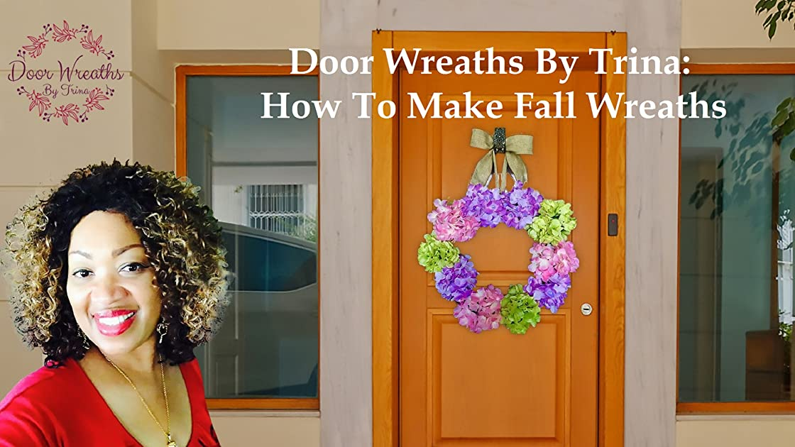 Door Wreaths By Trina - How To Make Fall Wreaths