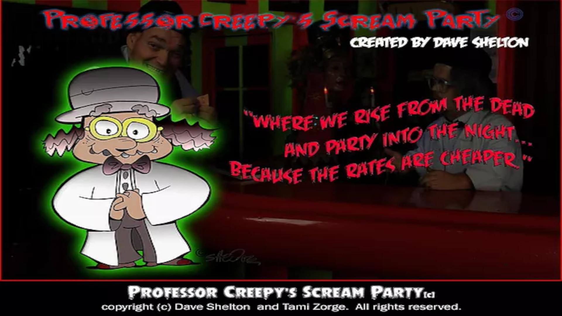 Professor Creepy's Scream Party