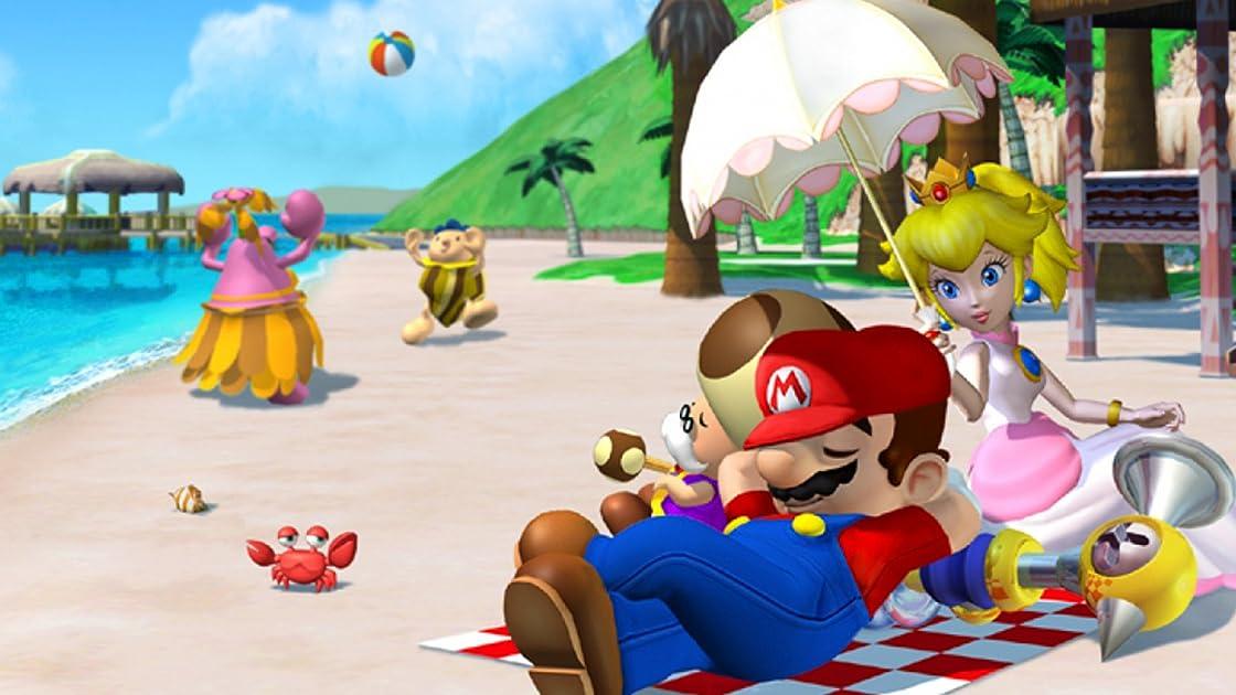 Clip: Super Mario Sunshine with Bricks 'O' Brian!