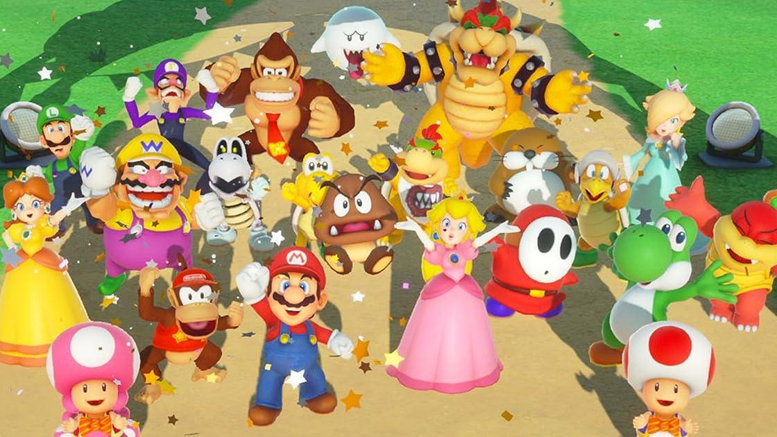 Clip: Super Mario Party with Bricks 'O' Brian!