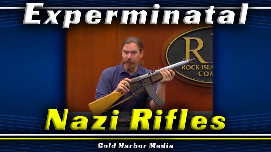 Experimental Nazi Rifles on Amazon Prime Instant Video UK