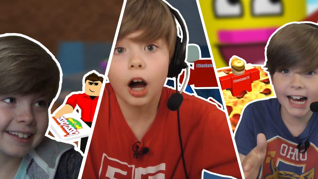 Ethan Gamer's Adventures in Roblox - Season 1
