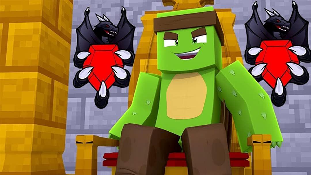 Clip: Tiny Turtle Minecraft Dragons - Season 8