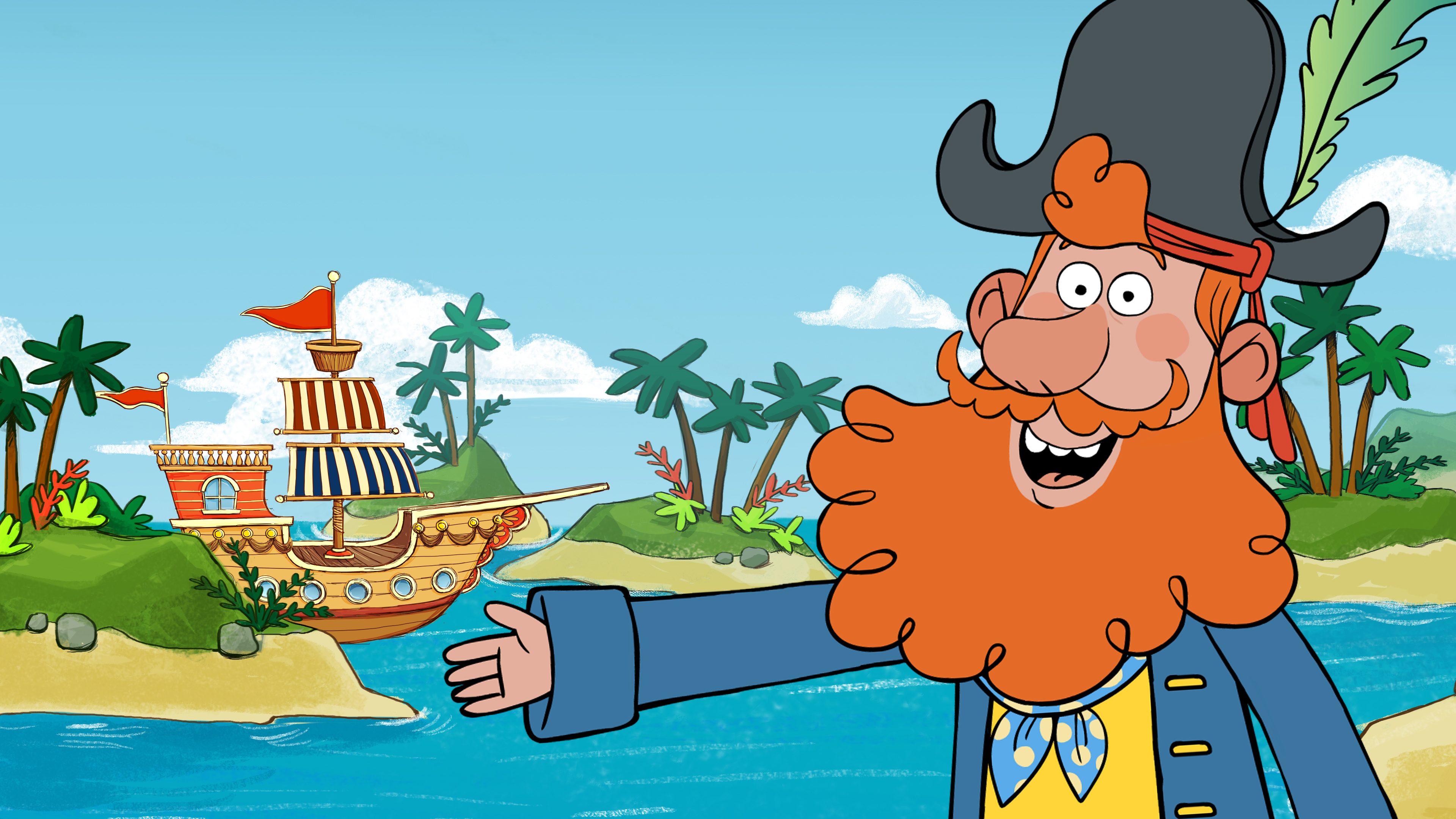 Captain Seasalt & the ABC Pirates - Season 1