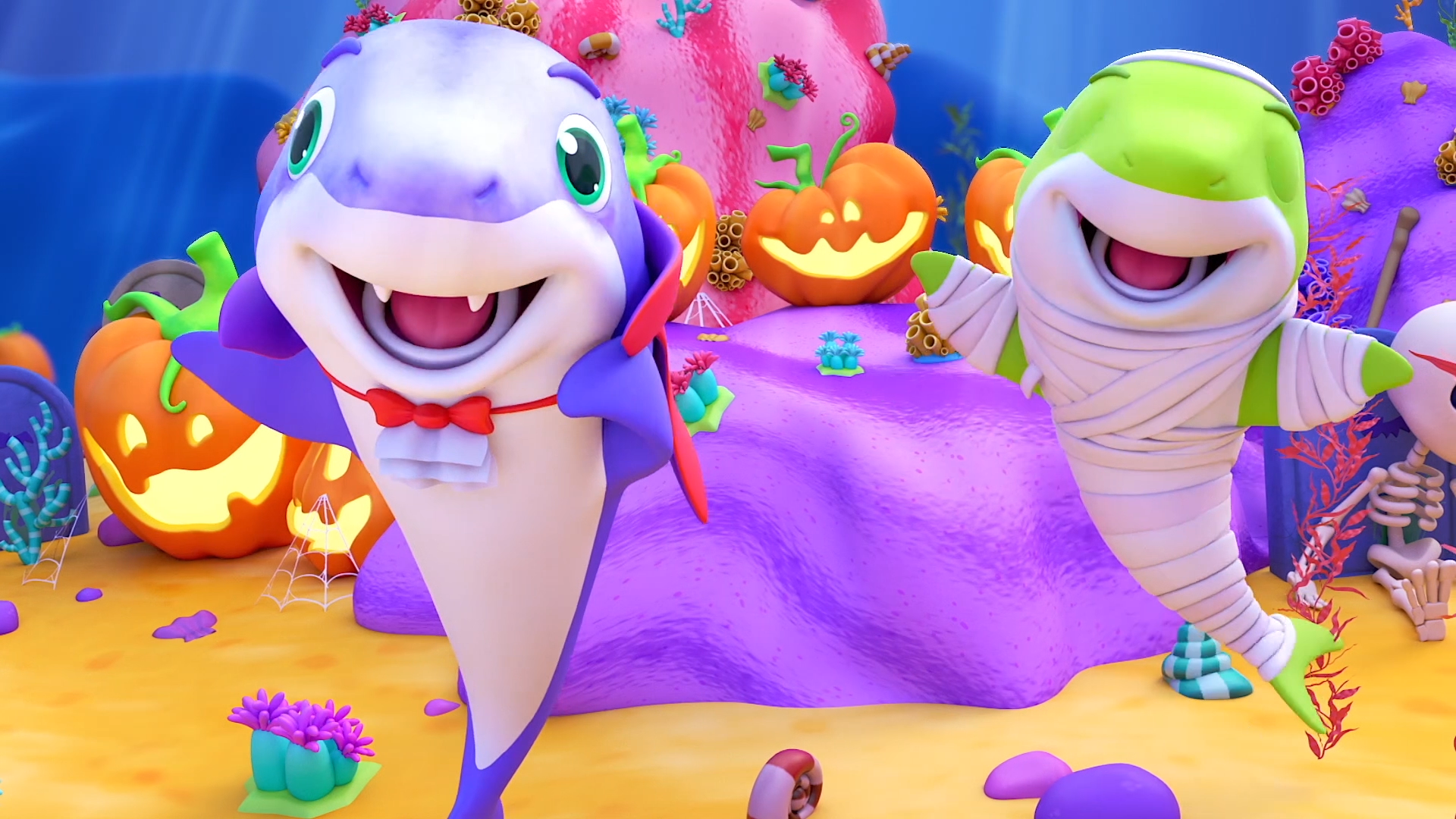Halloween Baby Shark & Spooky Kids Songs on Amazon Prime Instant Video UK