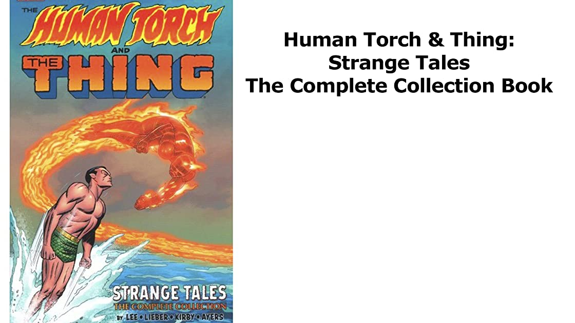 Clip: Human Torch & Thing: Strange Tales The Complete Collection Book