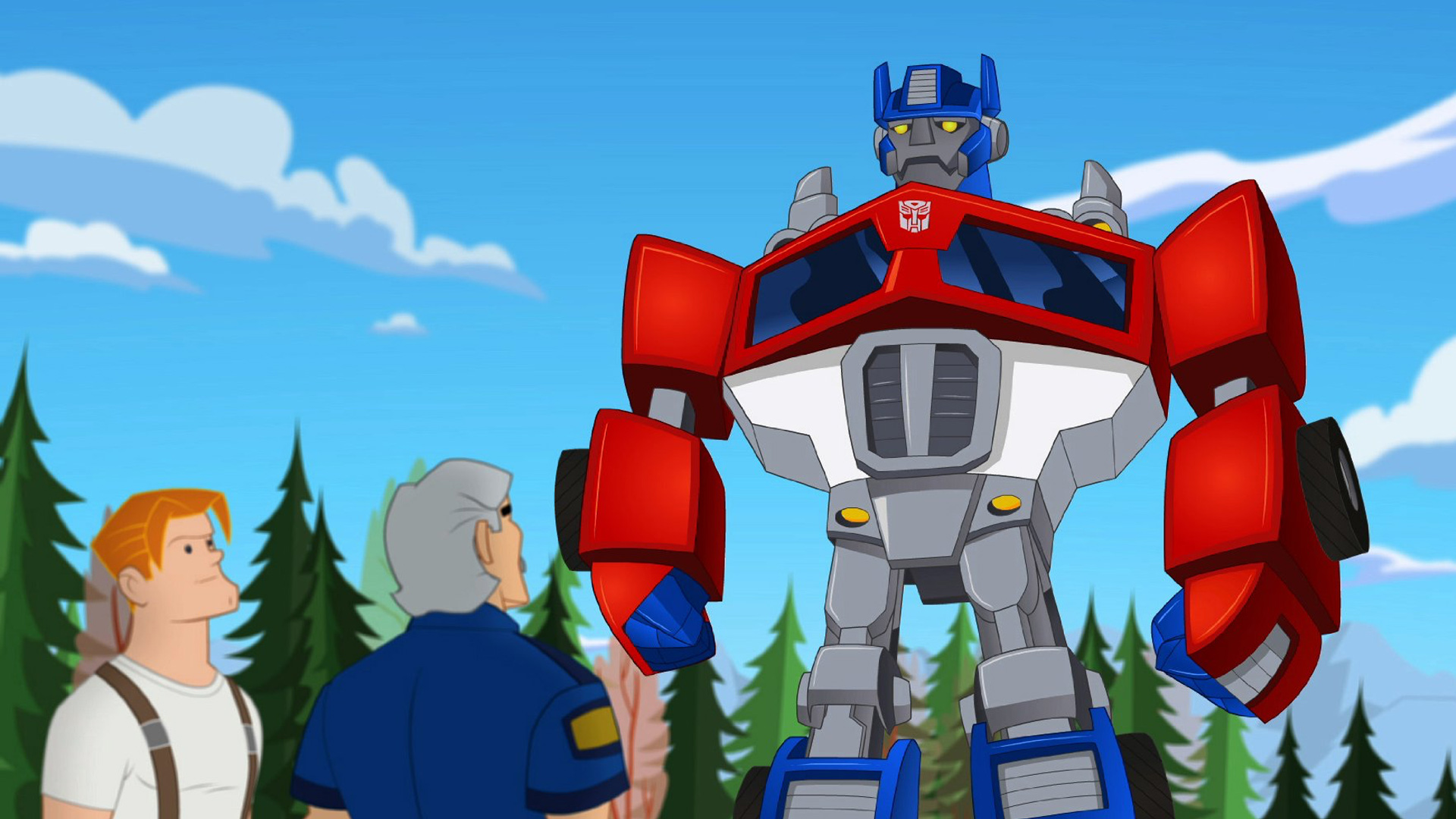 Transformers Rescue Bots on Amazon Prime Video UK