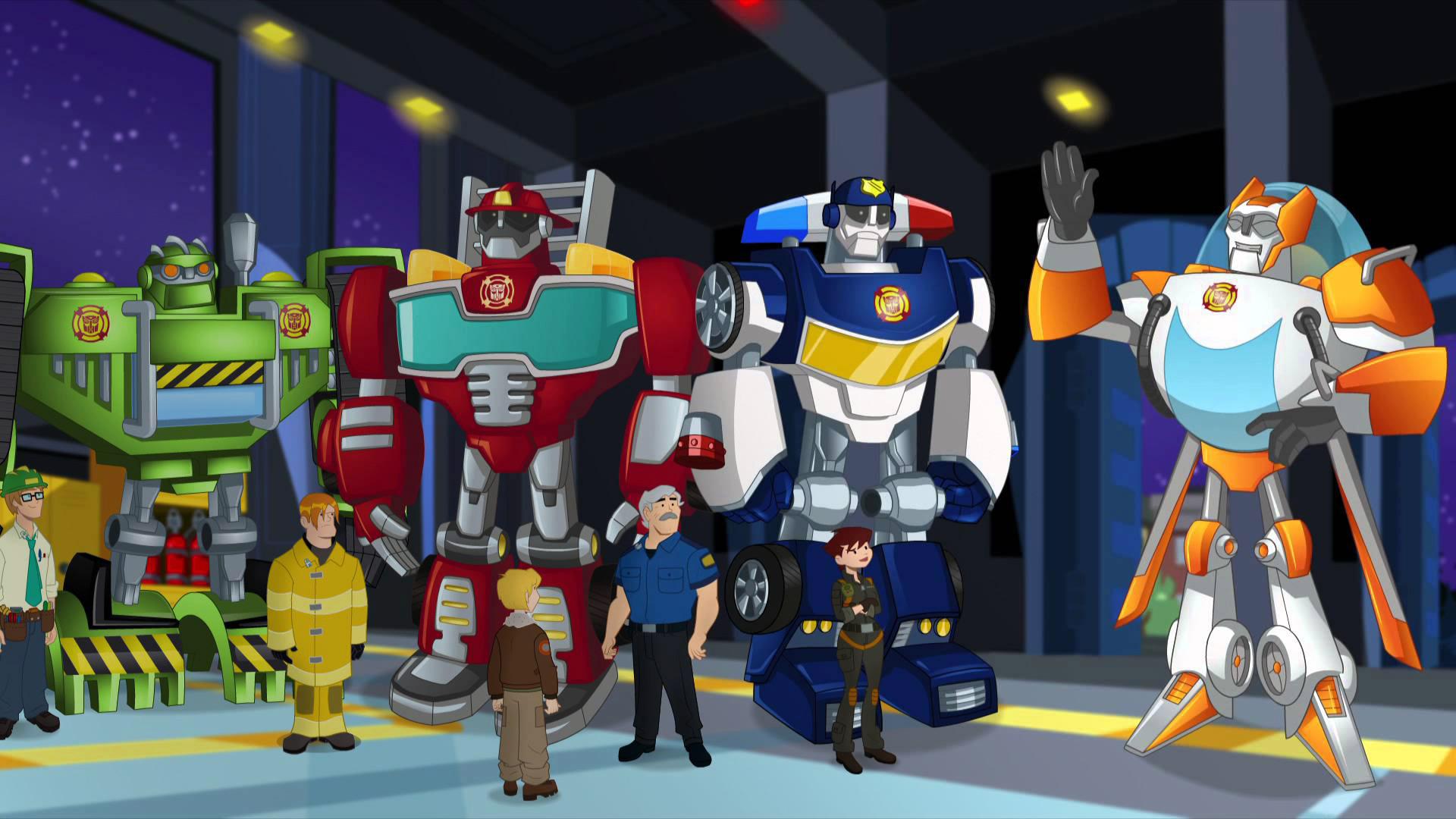 Transformers Rescue Bots on Amazon Prime Video UK