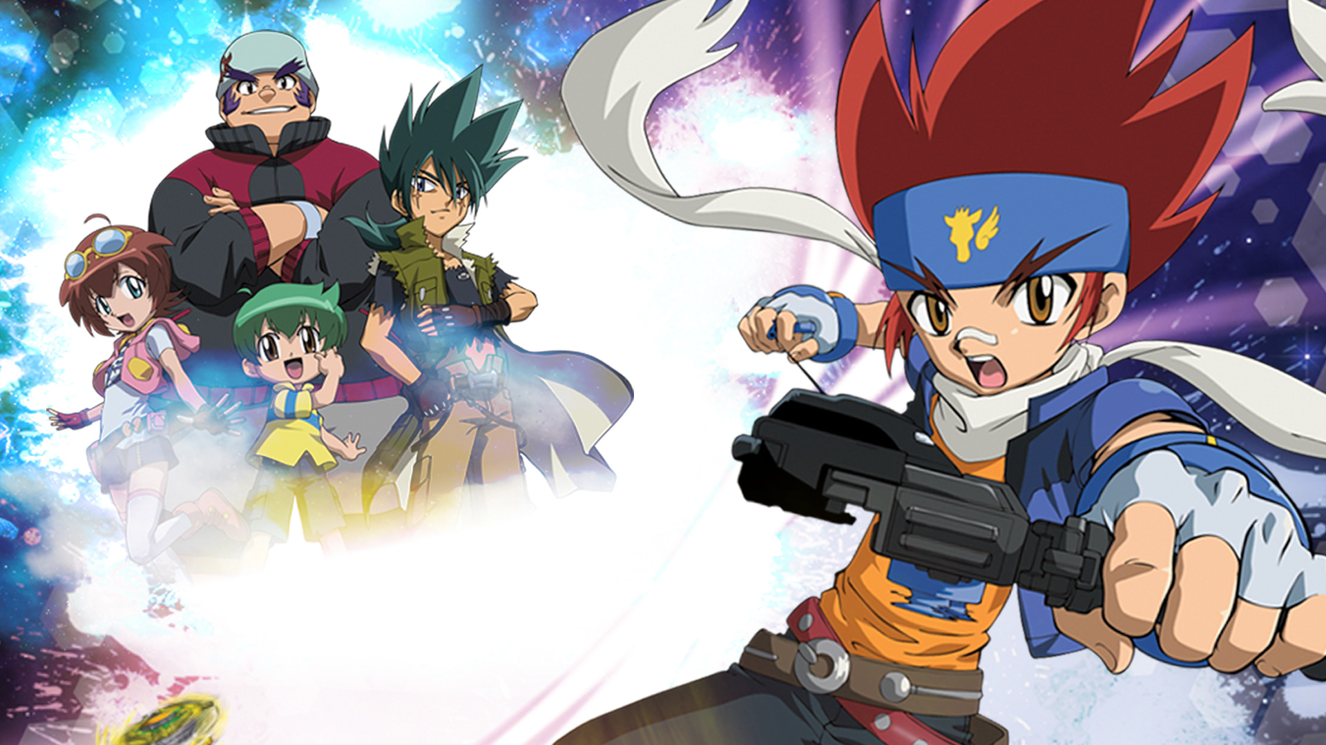 Beyblade: Metal Fusion on Amazon Prime Video UK