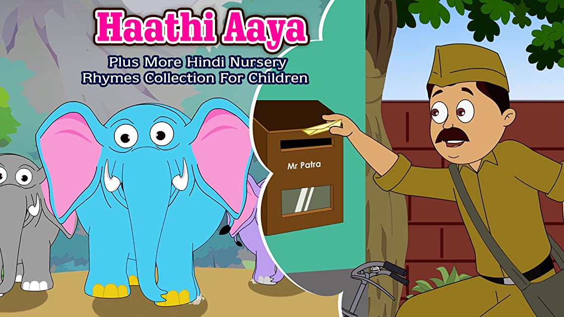 Haathi Aaya Plus More Hindi Nursery Rhymes Collection For Children Shemaroo Kids Hindi