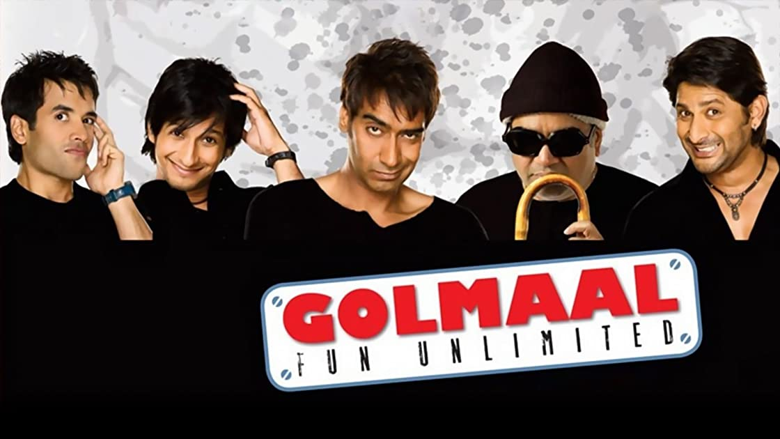 Golmaal Fun Unlimited on Amazon Prime Video UK