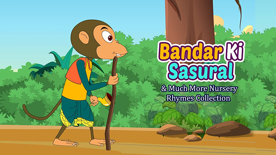 Bandar Ki Sasural & Much More Nursery Rhymes Collection Shemaroo Kids Hindi