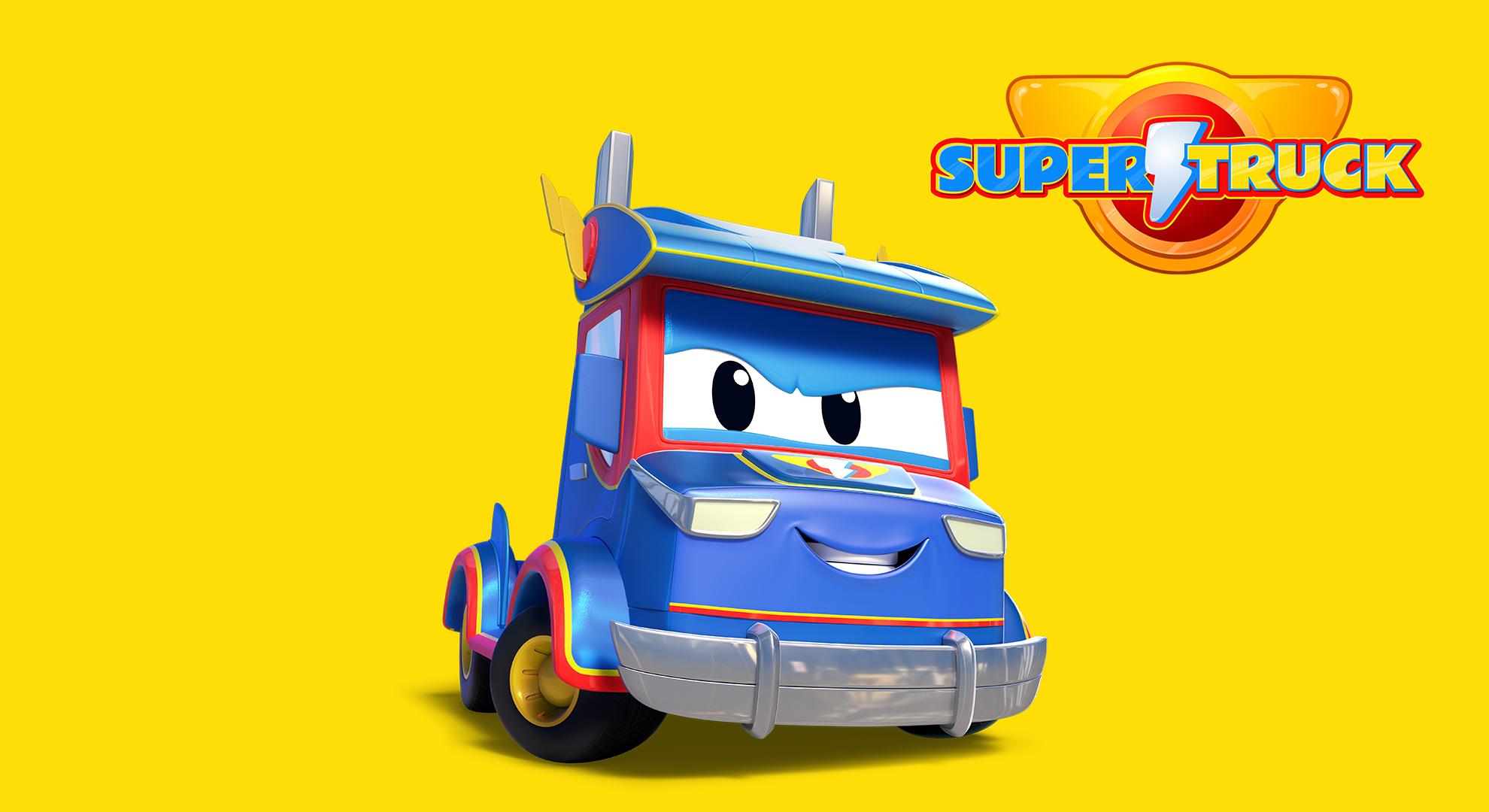 Super Truck - Carl the Transformer on Amazon Prime Video UK