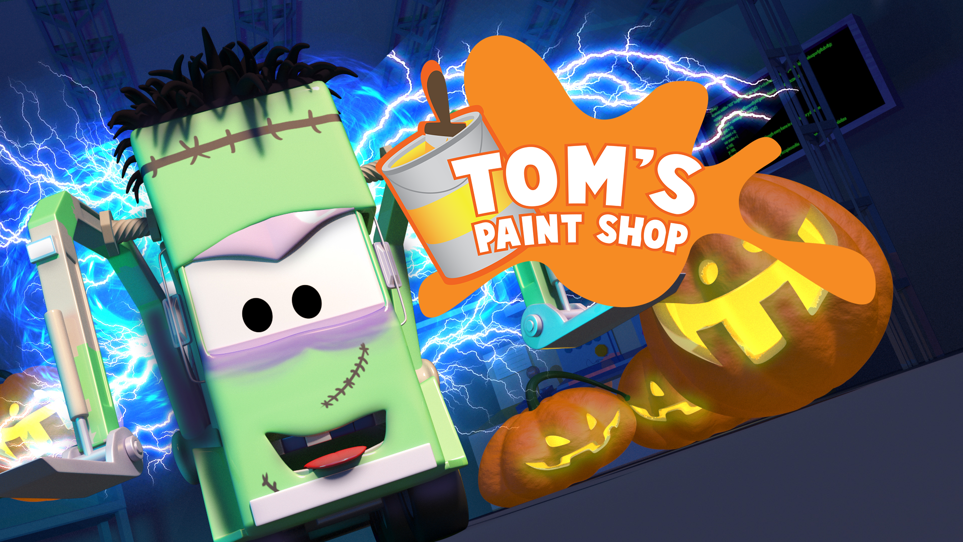 Tom's Paint Shop on Amazon Prime Video UK