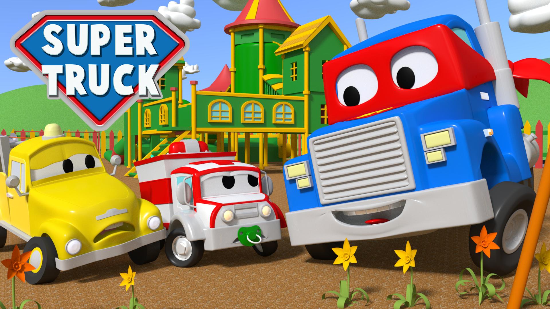 Super Truck of Car City on Amazon Prime Video UK