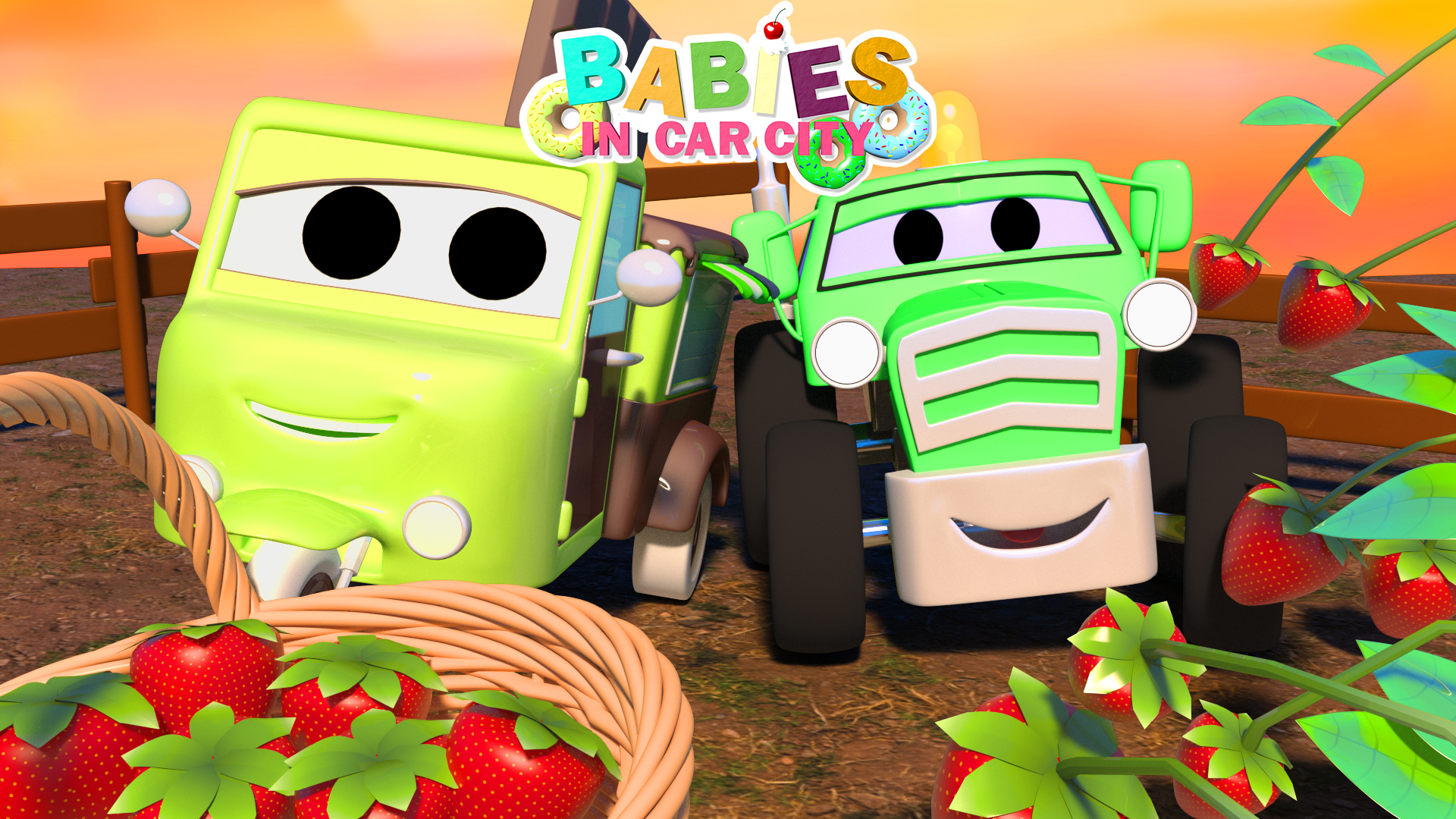 Babies in Car City on Amazon Prime Video UK