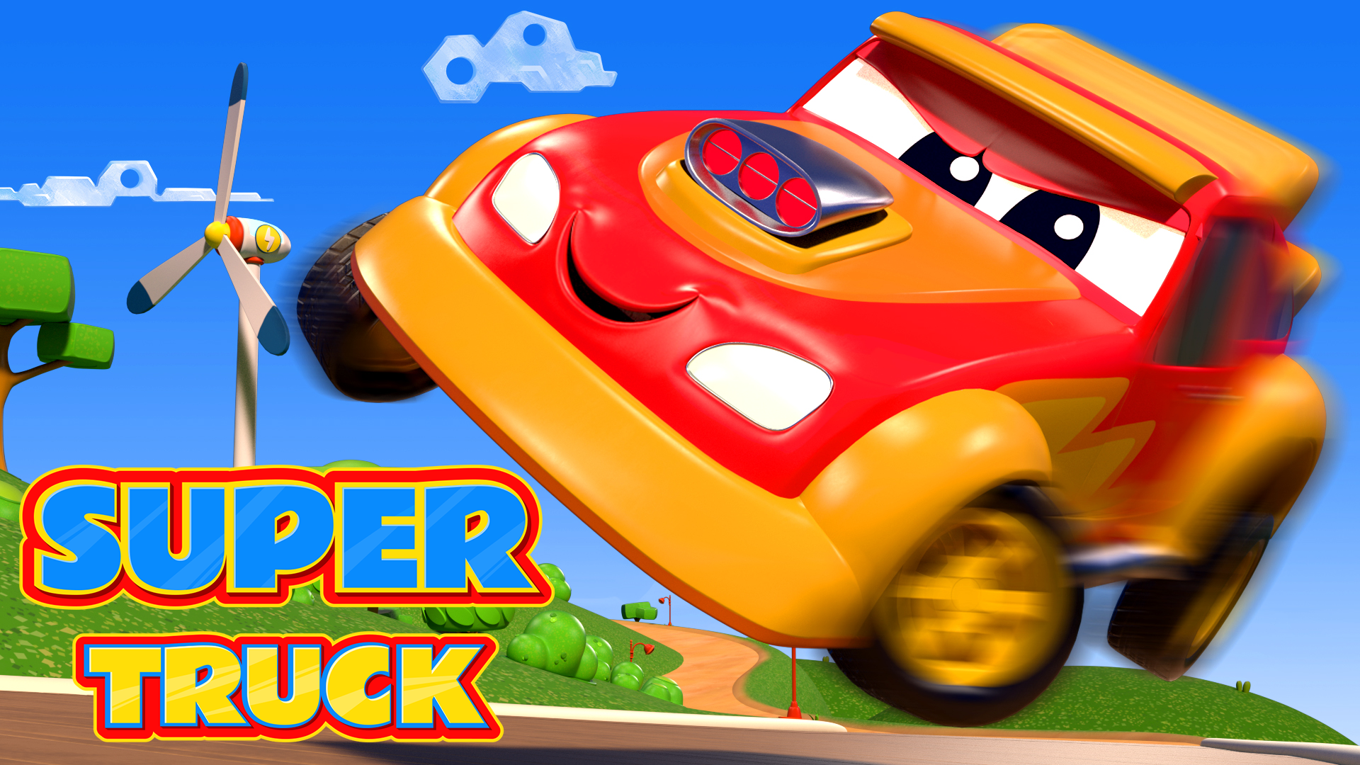 Super Truck - Carl the Transformer on Amazon Prime Video UK