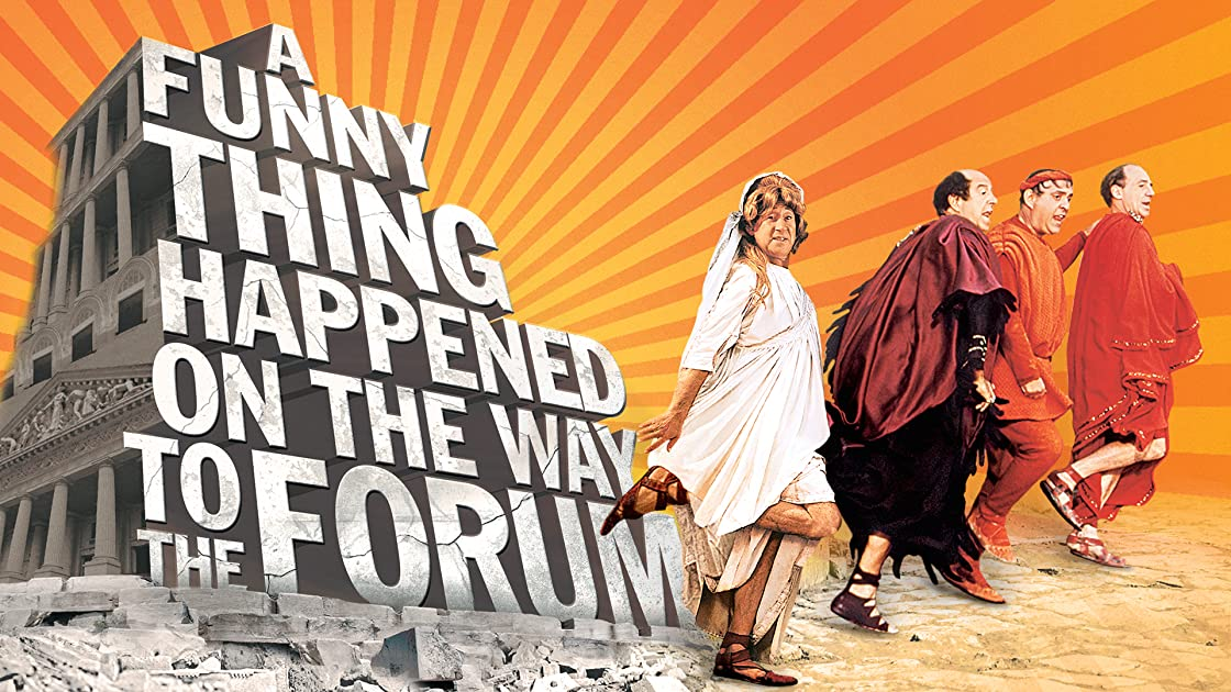 A Funny Thing Happened on the Way to the Forum on Amazon Prime Video UK