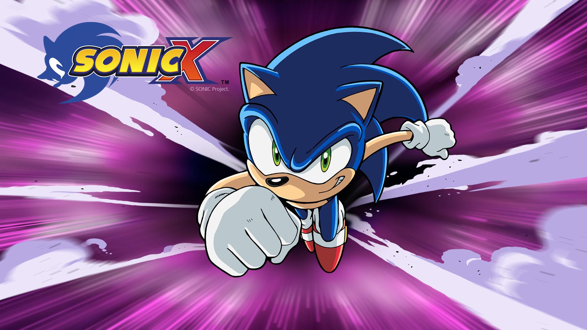 Sonic X on Amazon Prime Video UK