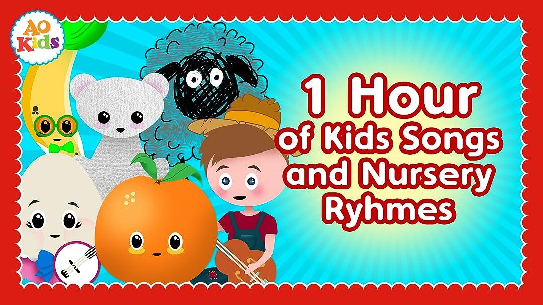 1 Hour of the Best Kids Songs and Nursery Rhymes! - AO Kids