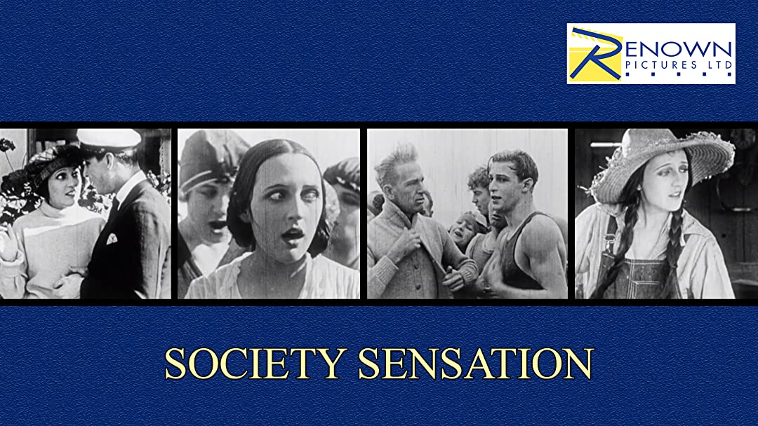 Society Sensation on Amazon Prime Video UK
