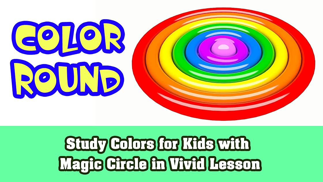Study Colors for Kids with Magic Circle in Vivid Lesson on Amazon Prime Instant Video UK