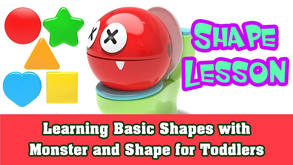 Learning Basic Shapes with Monster and Shape for Toddlers on Amazon Prime Instant Video UK