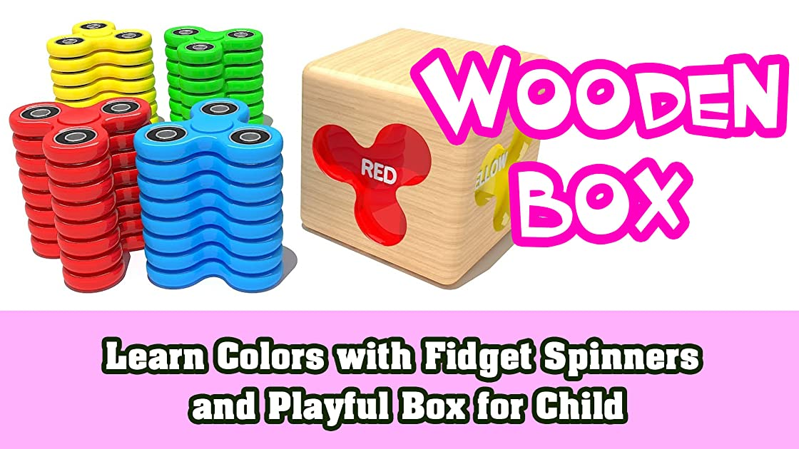 Learn Colors with Fidget Spinners and Playful Box for Child on Amazon Prime Instant Video UK