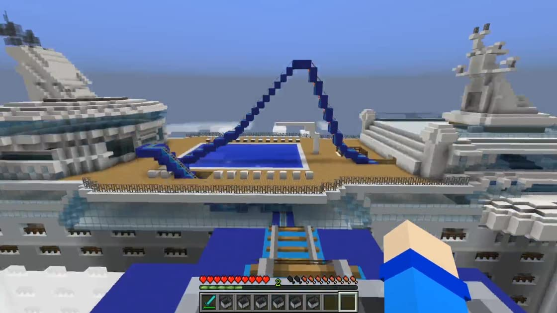 Clip: Minecraft Rollercoaster Challenge from Mother Goose Club Minecraft