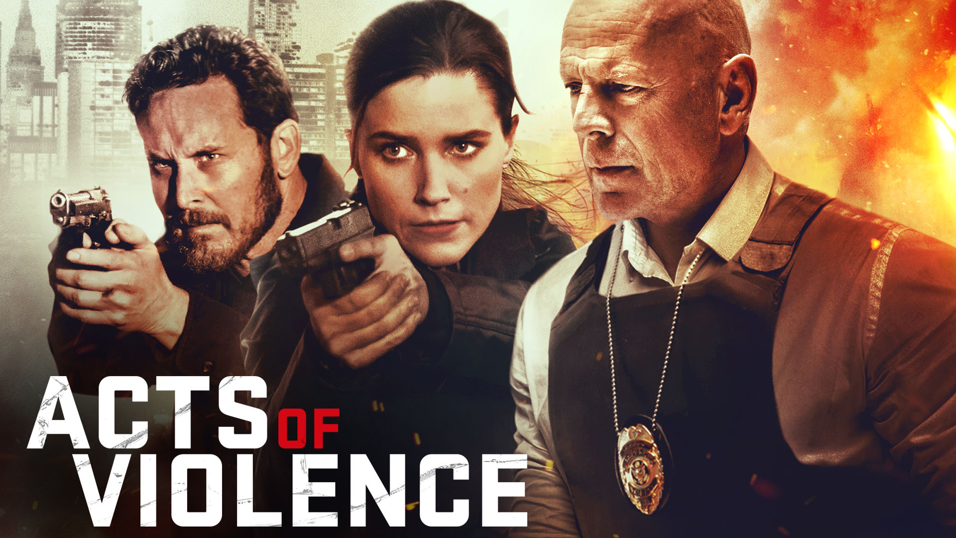 Acts of Violence on Amazon Prime Video UK