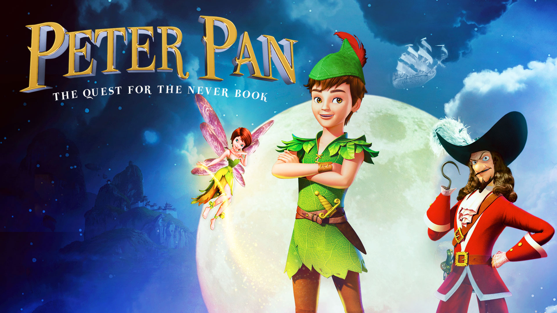 Peter Pan: The Quest for the Never Book on Amazon Prime Instant Video UK