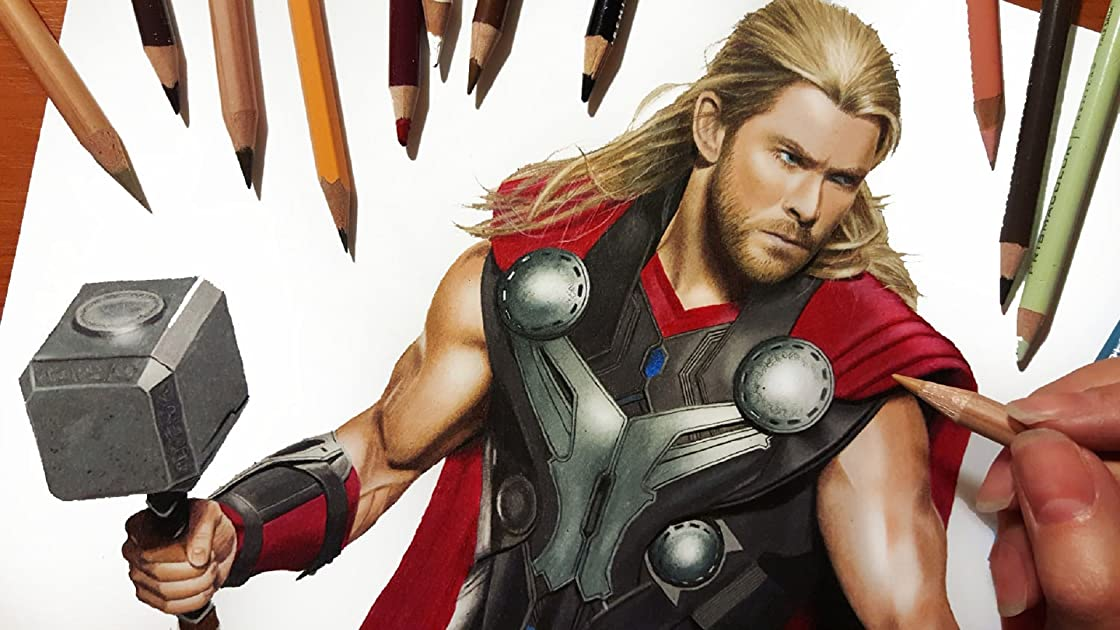 Drawing Thor on Amazon Prime Instant Video UK