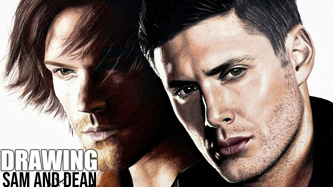 Clip: Drawing Sam and Dean on Amazon Prime Instant Video UK