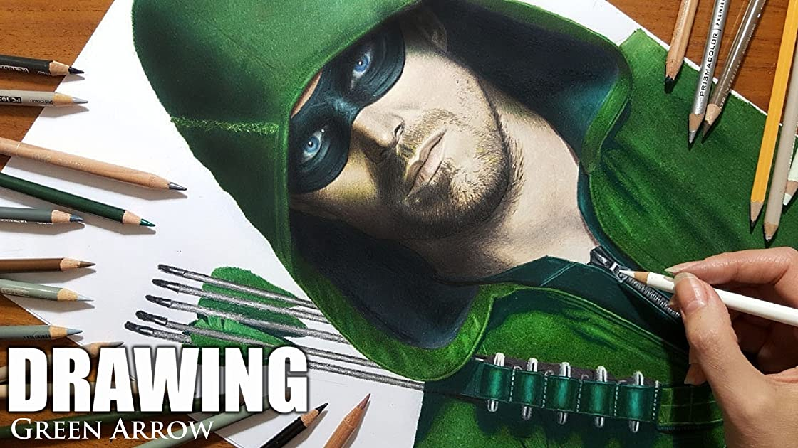 Clip: Drawing Green Arrow