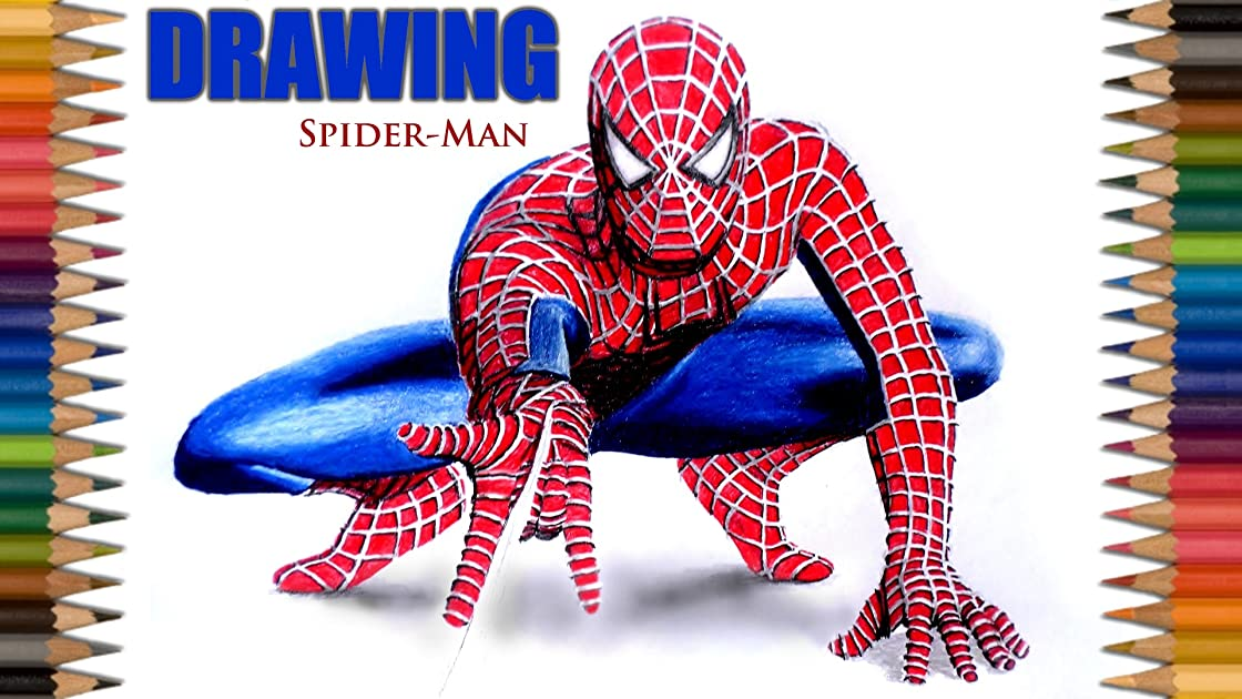 Clip: Drawing Spider-Man