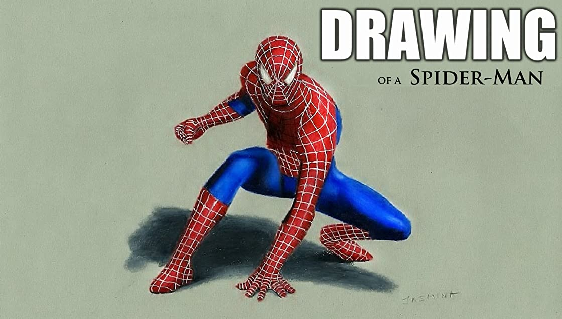 Clip: Drawing of a Spider-Man