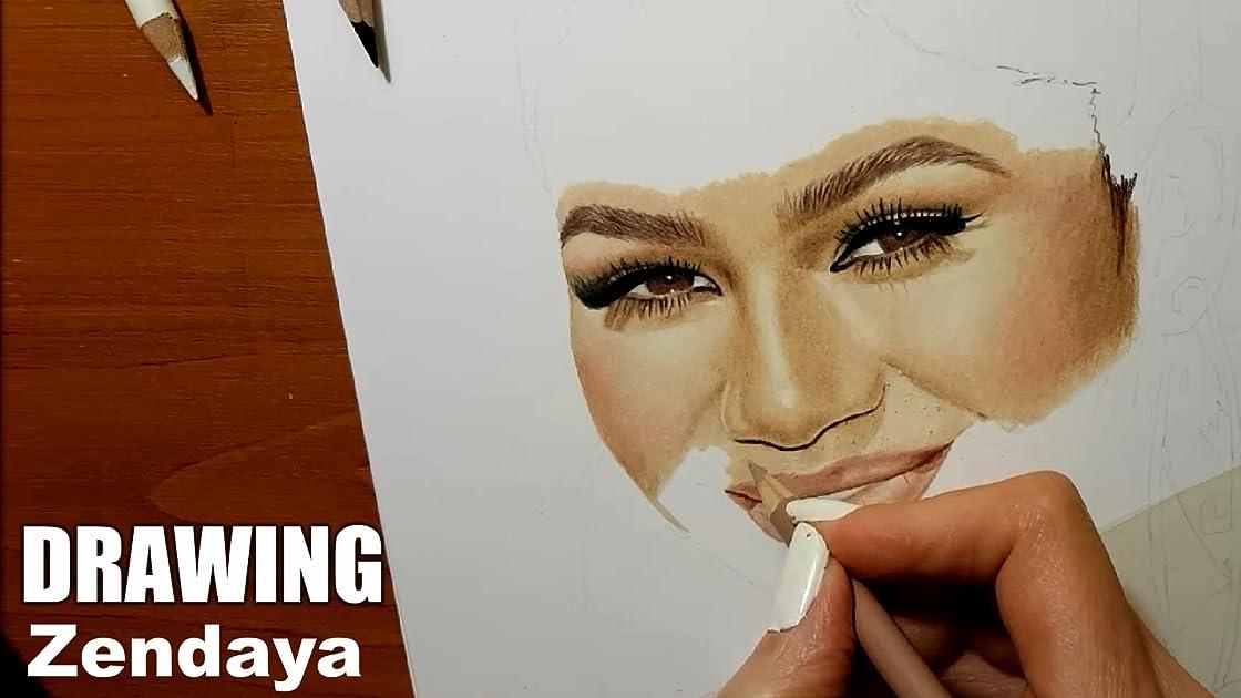 Drawing Zendaya