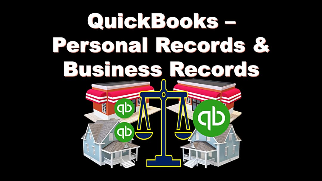 QuickBooks - Personal Records & Business Records on Amazon Prime Instant Video UK