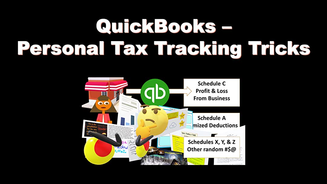 QuickBooks - Personal Tax Tracking Tricks on Amazon Prime Instant Video UK