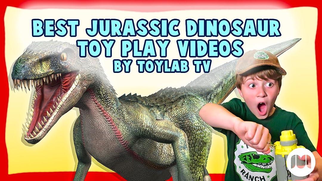 Best Jurassic Dinosaur Toy Play Videos by Toylab TV
