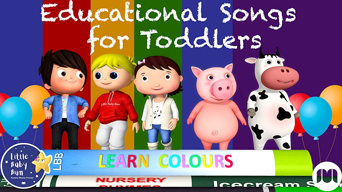 Educational Songs for Toddlers - Little Baby Bum