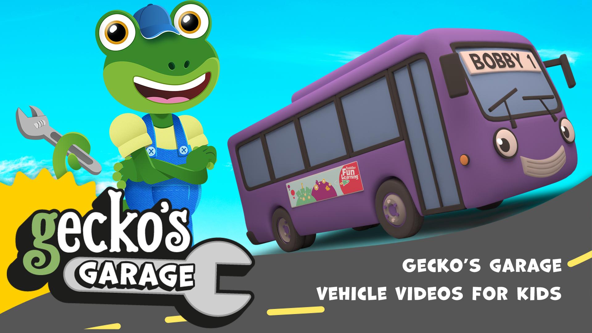 Gecko's Garage - Vehicle Cartoons for Kids